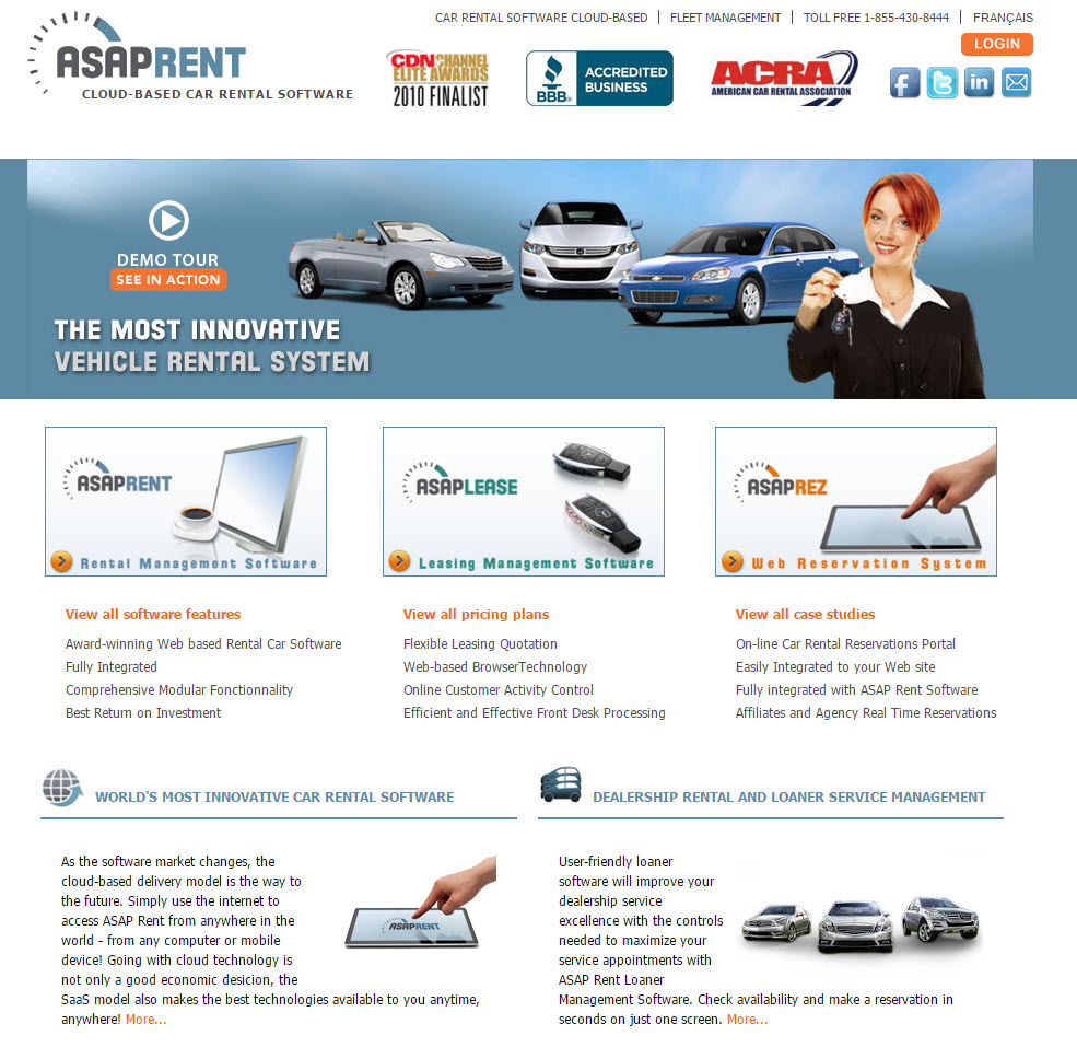 Renting Website: Car Rental Software Reviews And Comparisons